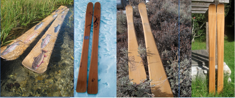 DIY Build Your Own Custom Skis